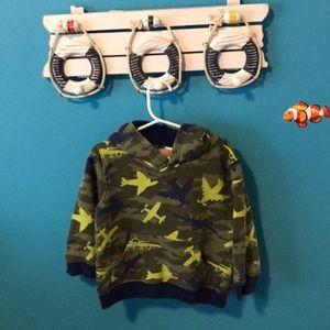 Boys plane sweatshirt 2T-3T